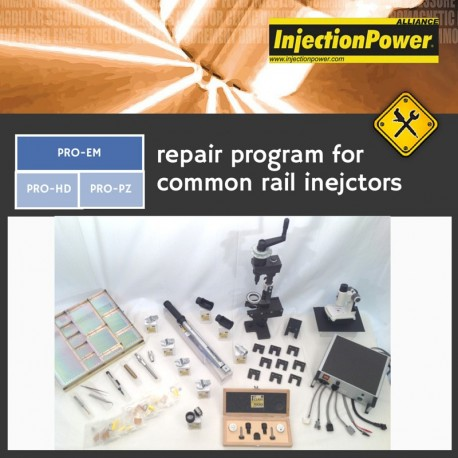 InjectionPower®, Repair Program for common rail injectors - Professional Level - Electromagnetic Module