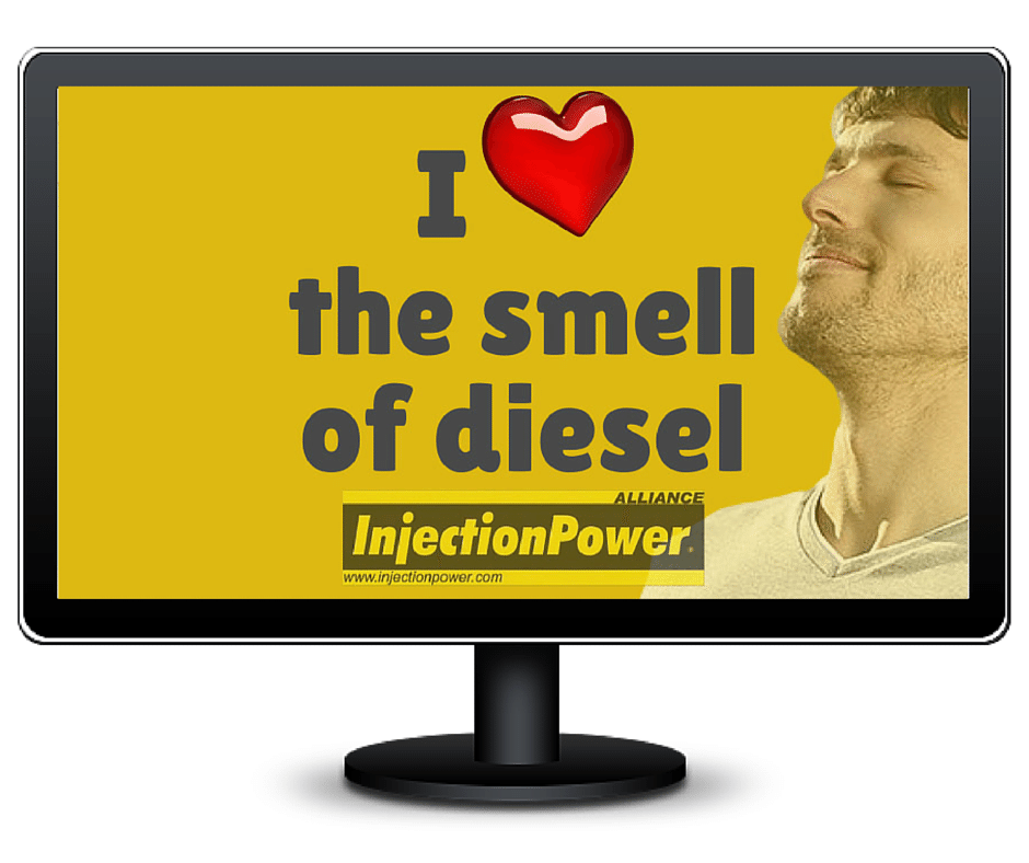 I love the smell of diesel, desktop by the InjectionPower Alliance