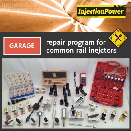 InjectionPower®, Repair Program for common rail injectors - Garage Level