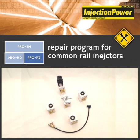 InjectionPower®, Repair Program for common rail injectors - Professional Level - Piezo Module