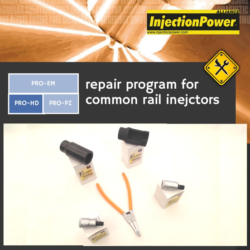 InjectionPower®, Repair Program for common rail injectors - Professional Level - Heavy Duty Vehicles Module