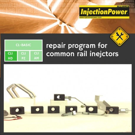 InjectionPower®, Repair Program for common rail injectors - Clinic Level - Heavy Duty Vehicles Module